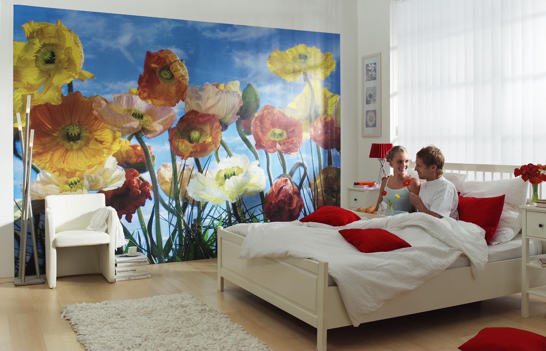 Behang Voor Slaapkamer : Een nieuw uiterlijk voor de slaapkamer behang ideëen tips en