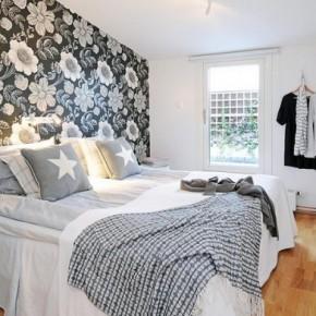 Een nieuw uiterlijk voor de slaapkamer - Behang: ideëen, tips en de ...