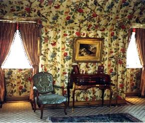 Ontstaan van decoratief behang