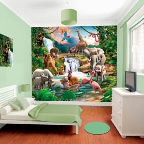 Behang Kinderkamer Jungle.Behang Kinderkamer Archives Pagina 5 Van 5 Behang Ideeen Tips