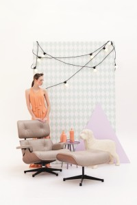 Harlequin behang - Ferm Living