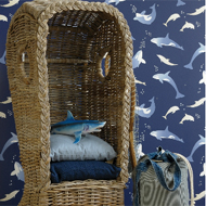 EstaHome.nl dolfijn behang