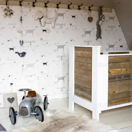 Leuk Behang Kinderkamer.Collectie Babykamer Behang Onszelf Behang Ideeen Tips En De