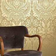 Barok behang goud
