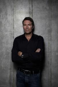Grijs behang Piet Boon