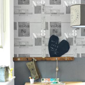 Vintage behang van Stapelgoed