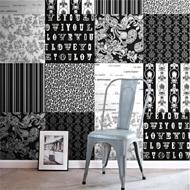 ColorwallXL Parijs zwart-wit