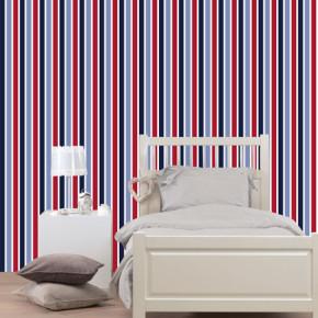 Amerikaanse stijl op de muur