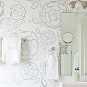 Nieuwe collectie behang speciaal voor badkamer