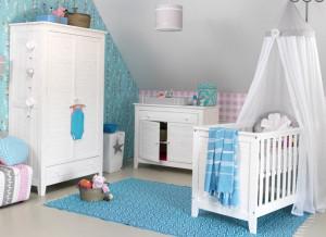 Babykamer Behang Grijs : Neutraal babykamer behang behang ideëen tips en de