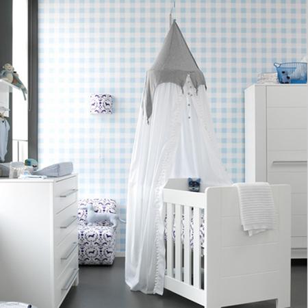 Baby Behang Jongen.Behang Babykamer Neutraal