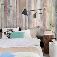 sloophout behang behangpapier