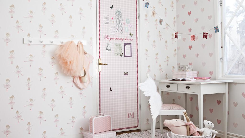 Kinderkamer Patronen Behang : Scandinavisch design voor de kinderkamer met lilleby behang