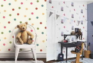 Behang Kinderkamer Scandinavisch : Scandinavisch design voor de kinderkamer met lilleby behang