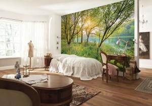 Romantische look in de kamer behang ideëen tips en de nieuwste