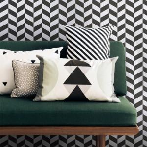Ferm living wallpaper visgraat