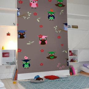 Accessoires Babykamer Uil.Accessoires Bij Uiltjes Behang Behang Ideeen Tips En De Nieuwste