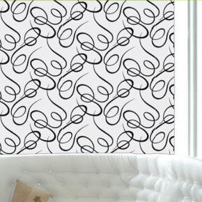 Schuimvinyl behang dat wel tegen een stootje kan