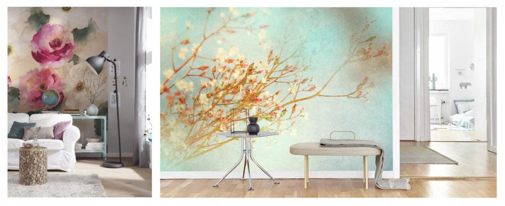 kies nu ook voor een klassieke bloemen fotobehang van delicate bloesems tot een scala aan rozen en tulpen vintage genspireerde wallpapers zorgen voor een