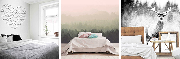 Fotobehang voor in de Slaapkamer - 4 stijlen waar je verliefd op ...