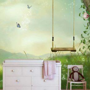 Tips voor het inrichten van een kinderkamer met behang