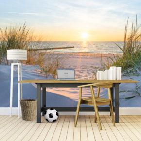 Inspirerende fotobehang ideeën voor jouw thuiswerkplek.