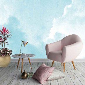 Behang -kleuren en stijlen om rust in huis te brengen