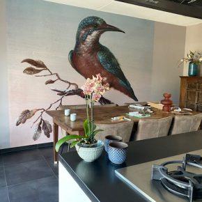 Airtex fotobehang als muurdecoratie